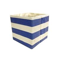 Collapsible Panier Tissu Home Foldable Folding Fabric Storage Basket Organizer For Underwear
