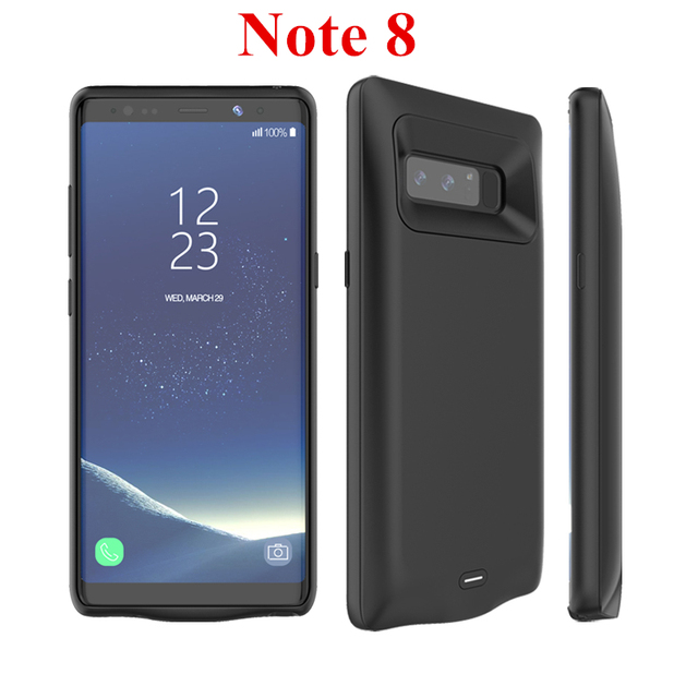 half off 2eb13 46259 US $19.56 43% OFF|Voor Samsung Galaxy Note 8 Batterij Case 5500 mah Externe  Capa lader Cover Power Bank Voor Samsung Galaxy Note 8 Batterij Case in ...