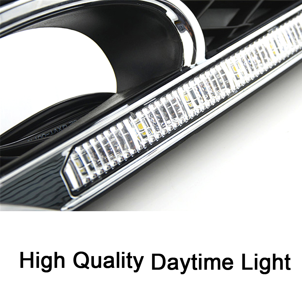 ECAHAYAKU LED Daytime Running Light with Turning Light Function Fog Lamp For Honda Civic 2011 2012 2013 Car Styling Brand New in Car Light Assembly from Automobiles Motorcycles
