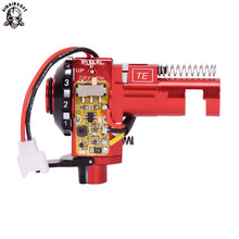 цена на SINAIRSOFT AEG High precision Tactical PRO CNC Aluminum Red Hop up Chamber with LED For M4 M16 series Airsoft hunting Accessorie