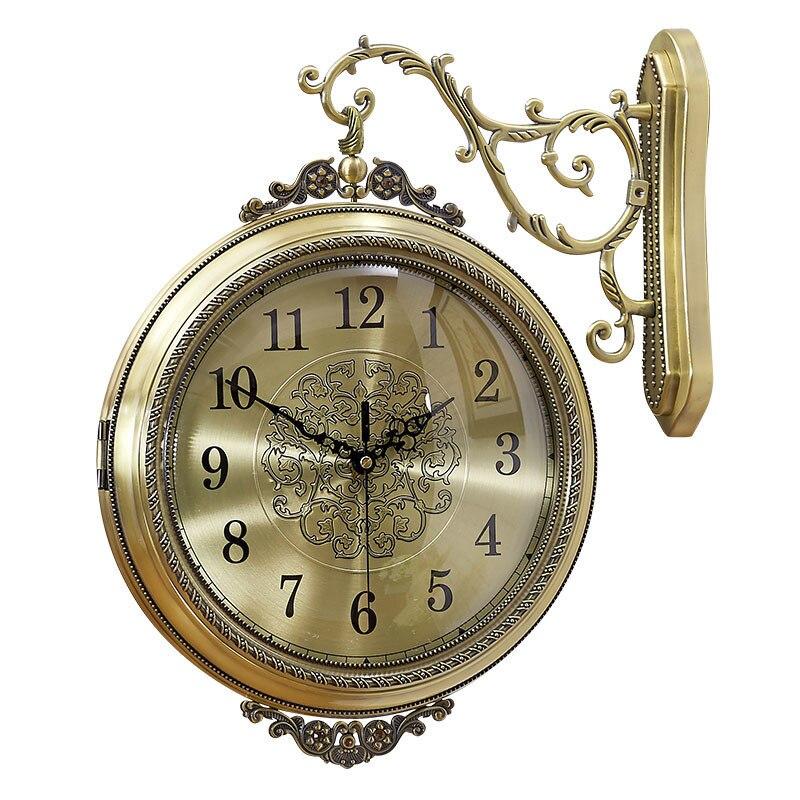 Парикмахерская De Decorativo Orologio да Parete Zegar современный Дизайн часы клок Saat обои Saati Reloj сравнению цифровой настенные часы