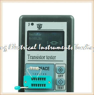 Fast arrival With case graphic display resistance inductance two transistor tester capacitor ESR meter M328 freeshipping 2014 newest m328 transistor tester capacitor esr inductance resistor meter not include the battery