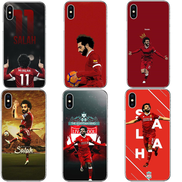 brand new a7215 7667b US $1.55 40% OFF Egypt football player Mohamed Salah King 11 Hard PC Phone  Cases Cover For iPhone 5 5s SE 6 6S Plus 7 XR XS Max 8 8 Plus X 10-in ...
