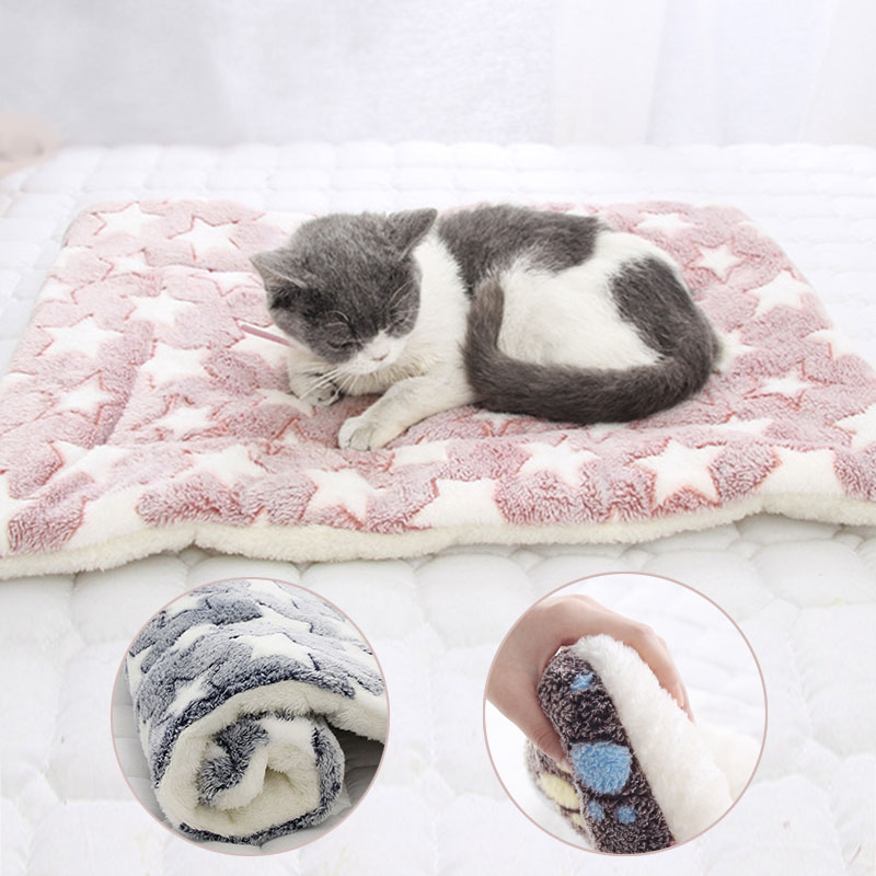 2019 Washable Bed Puppy Cushion House Soft Warm Large Pet Dog Cat Kennel Mat Blanket Cushions Mattress Kennel Soft Crate Mats