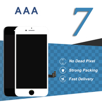 10pcs For IPhone 7 LCD Display 4 7 Inch Black White Mobile Phone Touch Screen Digitizer