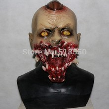 2018 Realistic High Quality 3D Movie Vivid Horror Scary Zombie Latex Mask For Halloween Party Cosplay