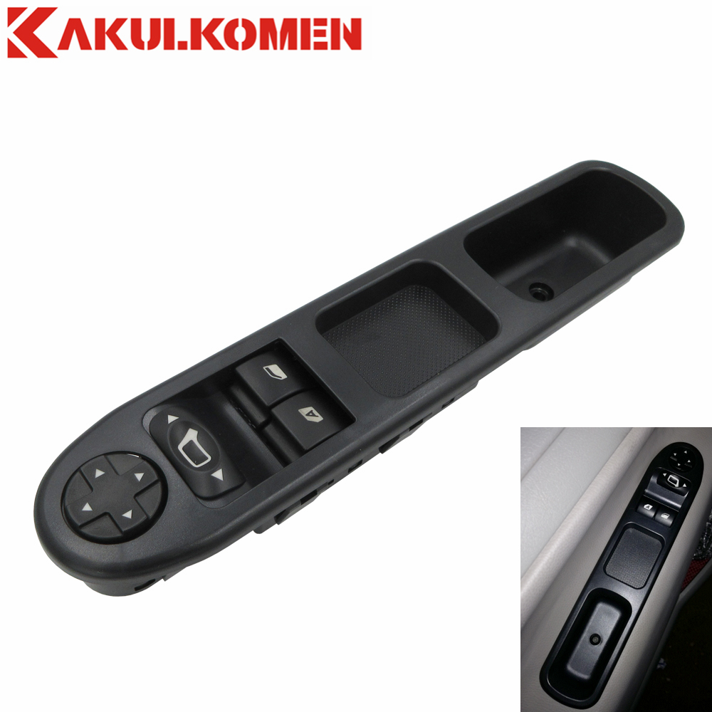 6554 QC 6554QC Front Left Side Power Master Window Switch For Peugeot 207 Stufenheck 2007 2014