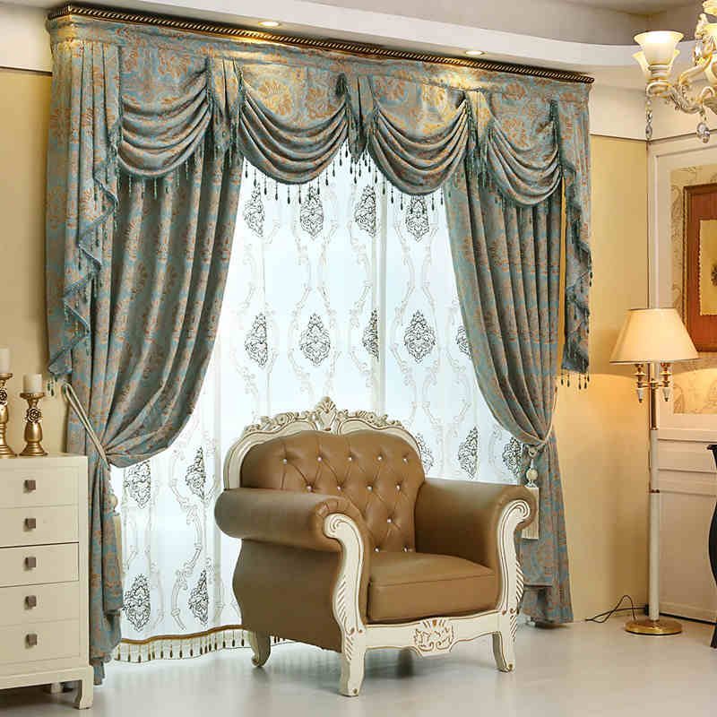 popular jacquard valance buy cheap jacquard valance lots from china jacquard valance suppliers. Black Bedroom Furniture Sets. Home Design Ideas