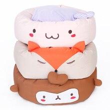Cute Cartoon Fleece Bed