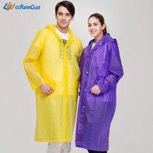 Raincoat Adult Emergency Waterproof EVA Poncho Raincoat Travel Camping Must Rain Coat Unisex Camping Waterproof Rainwear Suit