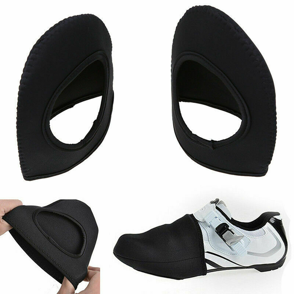 Shoes Cover Men Bicycle Lock Warm Windproof Mountain Bike Half Palm Black Male Gentlemen Shoes Protection Accessories Hollow