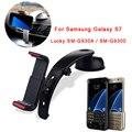 [ sostenedor del teléfono del coche ] ventana del parabrisas del coche Mount + Air Vent Holder para Samsung Galaxy S7 borde SM-G930A SM-G9300 Car soporte del teléfono