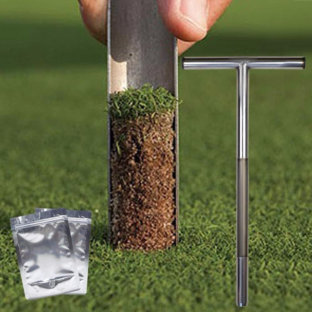 Soil Sampler Probe Dutch-type 304 Stainless Steel Lab Test Tool Supply Tool