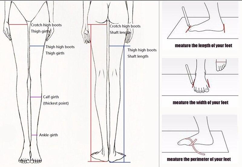 crotch hi measure guide