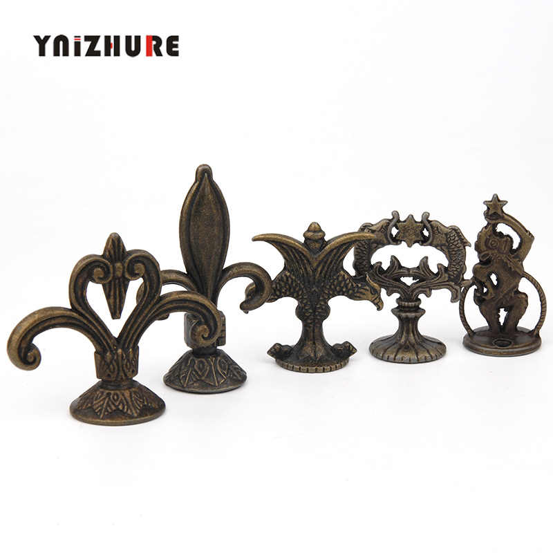 YNIZHURE Antique Pull Bronze Retro Knobs Creative Multi-purpose party Alloy Kitchen Drawer Cabinet Door Retro Handle With Screw