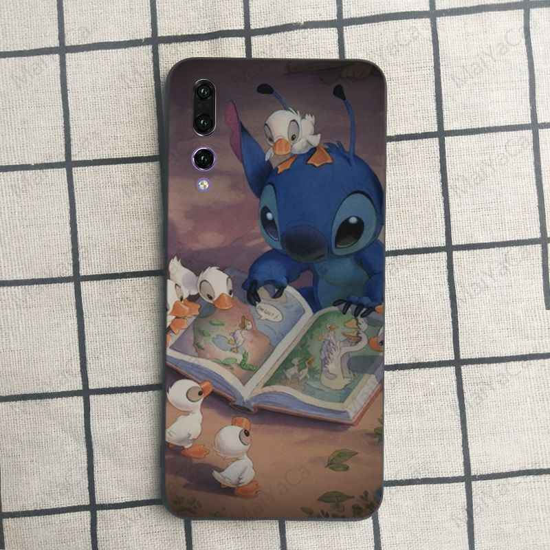 MaiYaCa cute cartoon Lilo and Stitch Colorful Cute Phone Accessories Case For Huawei honor 9 10 7s 8 p20 Cell phone case