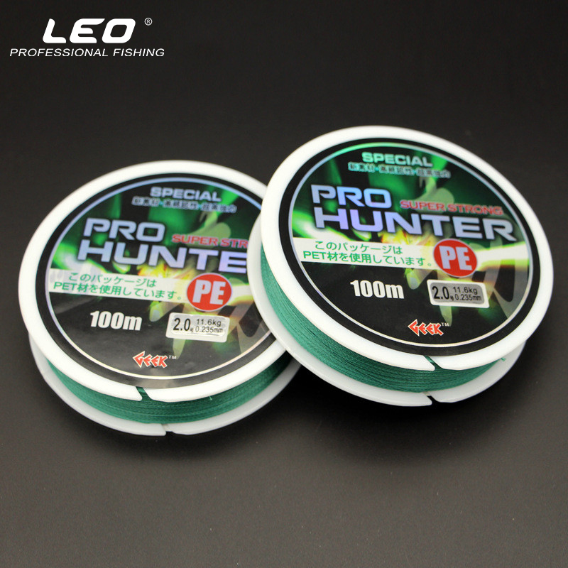 Quality 8 Strands PE Braided Fishing Line 100M Sinking Anti-bite Fishing Wire Multifilament PE Line for Sea Fishing 20LB-110LB