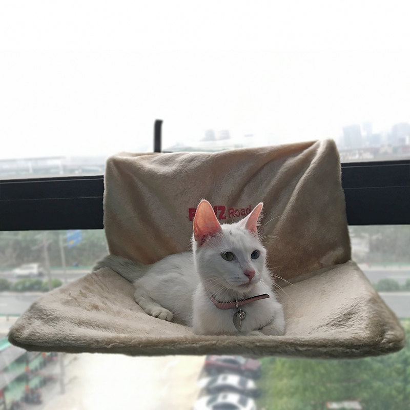 Cat Bed Removable Window Sill Cat Radiator Bed Hammock Perch Seat Lounge Pet Kitty Hanging Bed Cosy Cat Hammock Mount Pet Seat