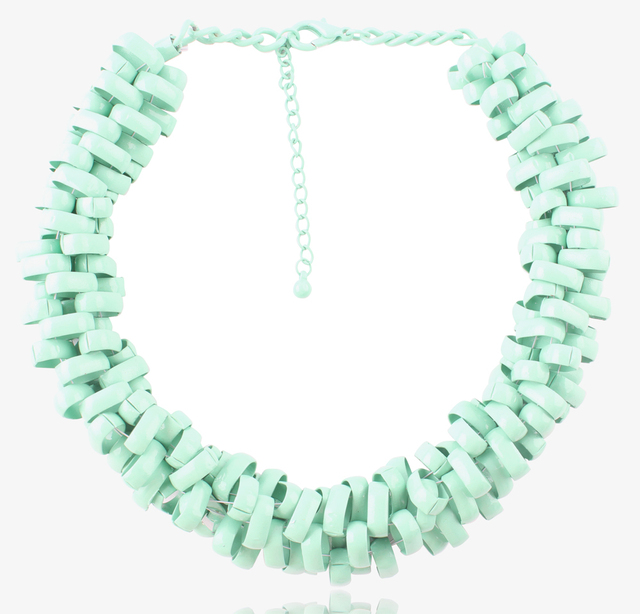 Newest 2014 High quality Z chunky choker statement necklace fashion necklace For Female Evening Dress wholesale 5colors