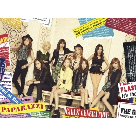 GIRLS GENERATION - PAPARAZZI (JAPAN 4TH SINGLE ALBUM) VER.2 Release Date 2012-8-16 KPOP ALBUM bigbang 2012 bigbang live concert alive tour in seoul release date 2013 01 10 kpop