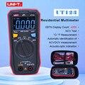 UNI T 4000 Zählt Mini Digital Multimeter UT123 EBTN Farbe Screen Display AC/DC Spannung Temperatur NCV Tester-in Multimeter aus Werkzeug bei