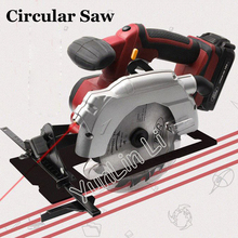 цены Handheld Wood Saw Electric Circular Saw Charging 18V Woodworking Tools Wood Cutting Machine Plastic Cutter TD8552