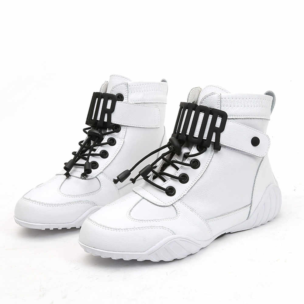 Winter boots women High-Top Sneakers s Women Ankle Running Breathable Sport  Shoes botas mujer 4b9bffe402ac