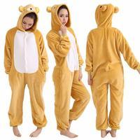 Hoodie Pajamas Costume Cosplay Animal Onesies Sleepwear For Men Women
