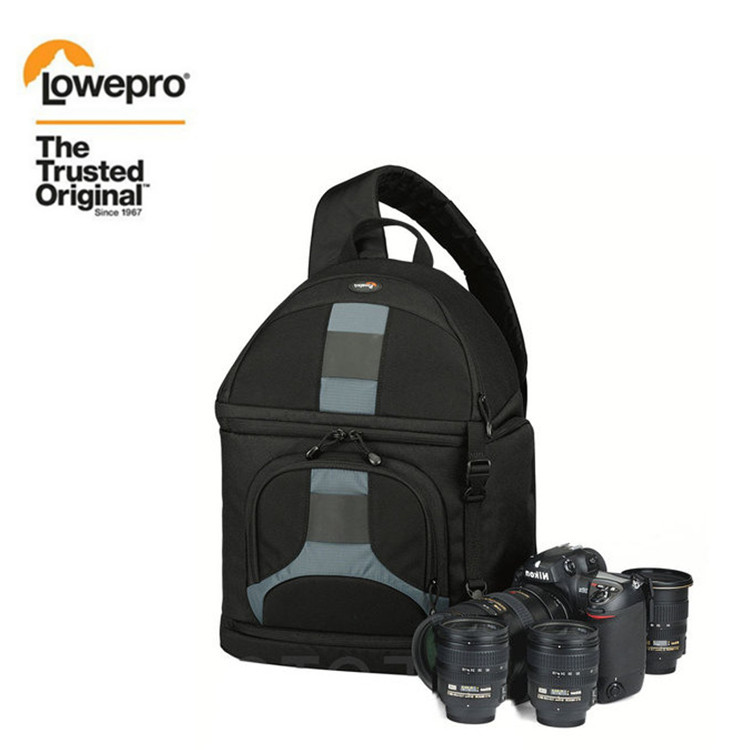 NEW Lowepro SlingShot 300 AW DSLR Camera Photo Sling Shoulder Bag with Weather Cover Free Shipping