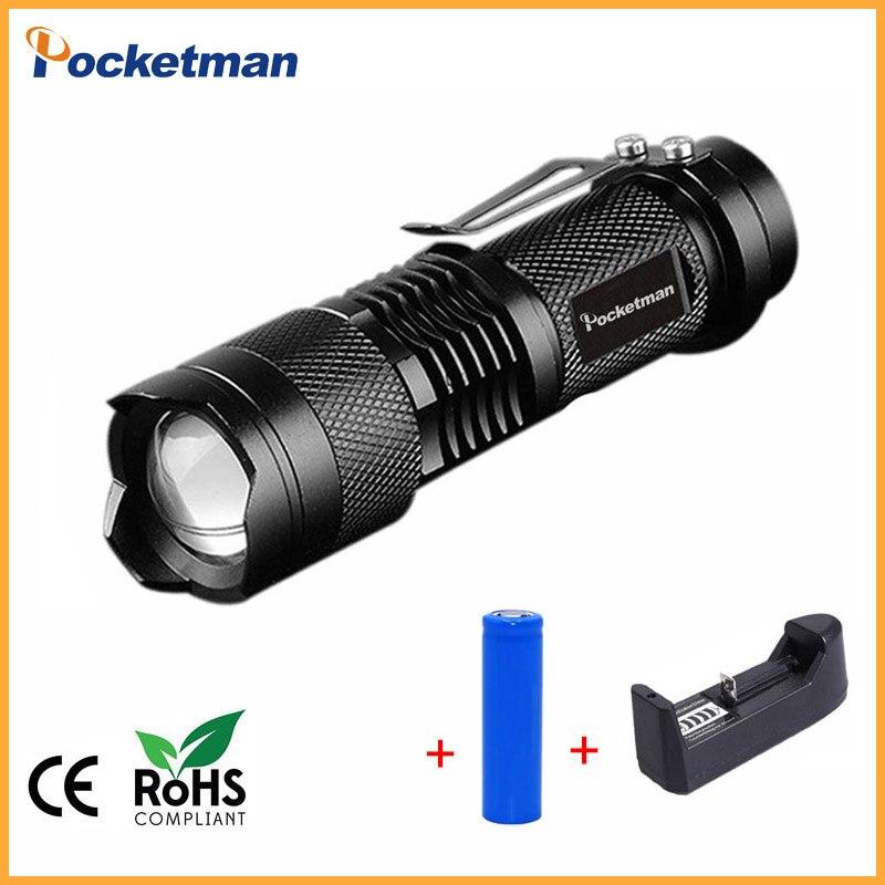 Haute qualité lampe-Torche MENÉE Portative 3800LM Imperméable Q5 3 Modèles Zoomable Matériel De Camping Torche zaklamp