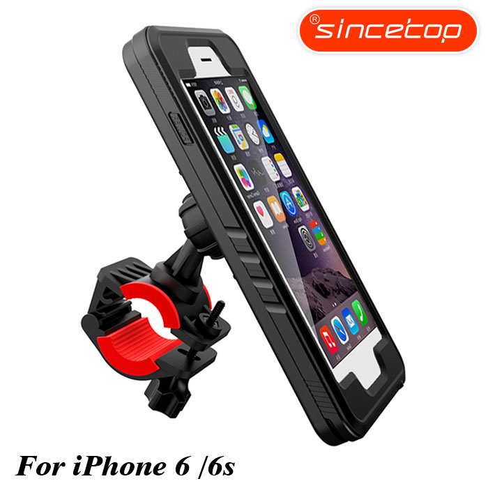 Shockproof Bike Phone Holder for iPhone Xs  6, 7, 8Plus, X Riding Navigation Bracket Sports Bicycle Mount Phone HolderShockproof Bike Phone Holder for iPhone Xs  6, 7, 8Plus, X Riding Navigation Bracket Sports Bicycle Mount Phone Holder