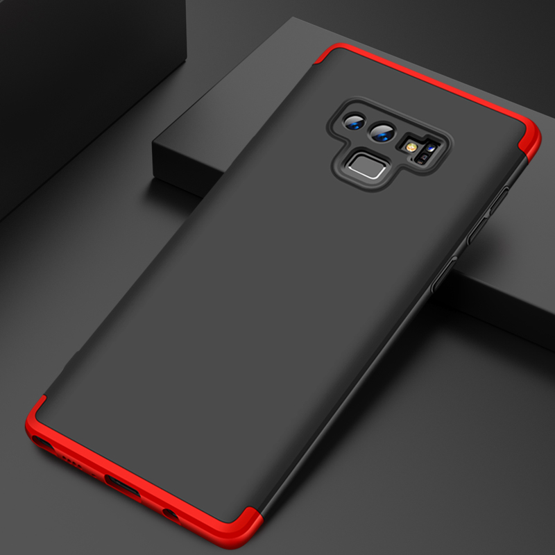For Samsung Galaxy Note9 Case 360 Degree Full Luxury 3-IN-1 Shockproof Frosted Shield Hard Back Cover Case For Samsung Note9Case (13)