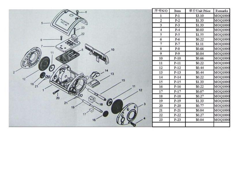 1pcs Lt80 Pneumatic Milking Pulsator Milking Machine Unit In Tool
