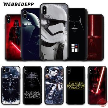 f2e3e68233a WEBBEDEPP Star Wars Marvel de silicona suave de TPU funda de teléfono para  iPhone 5 5S SE 6 6 S 7 8 Plus XR X XS X Max