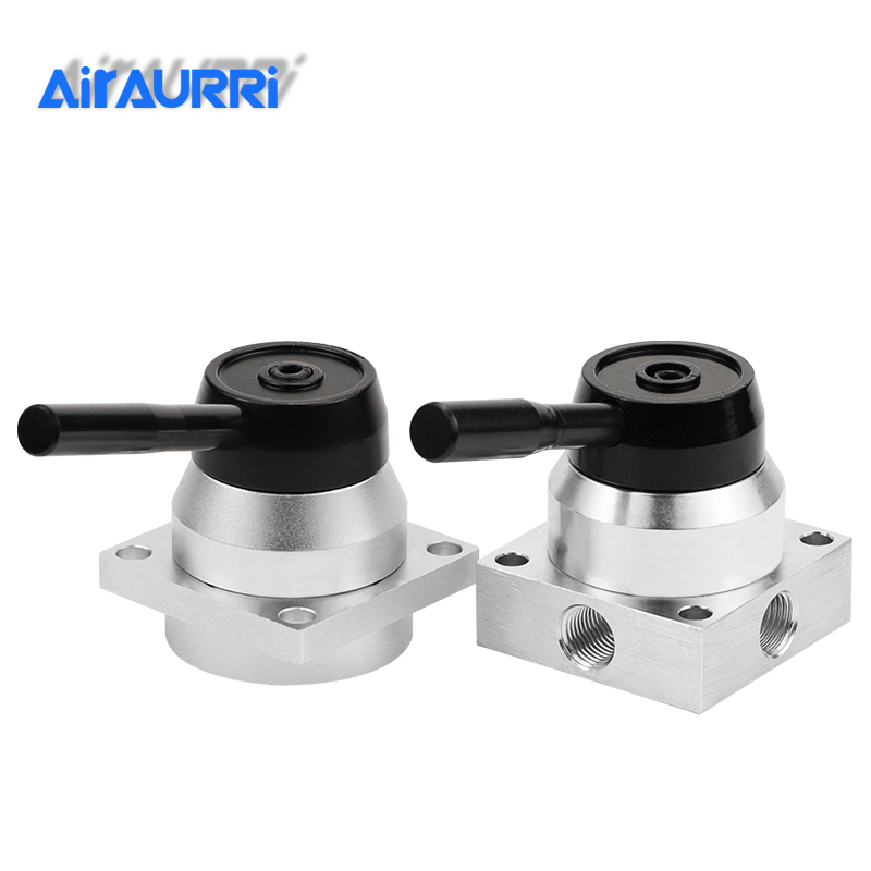 Pneumatic hand switch valve cylinder gas valve switch K34R6-8L / D manual valve accessories next to the bottom of the gas
