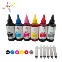 New arrival 6 bottles/set Dye Sublimation Ink Heat Transfer Ink for Epson XP15000 XP15010 XP15080 Printer 100ml/bottle