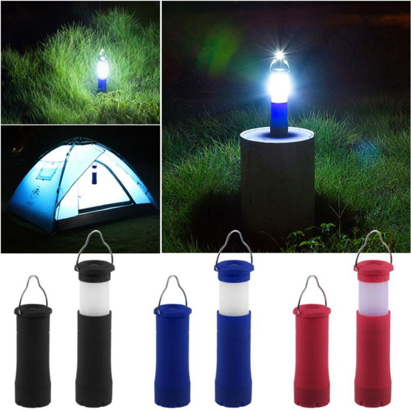 Outdoor Tools Camping Waterproof Portable 3W LED Camping Light Lamp Zoomable Retractable Tent Light AAA Battery