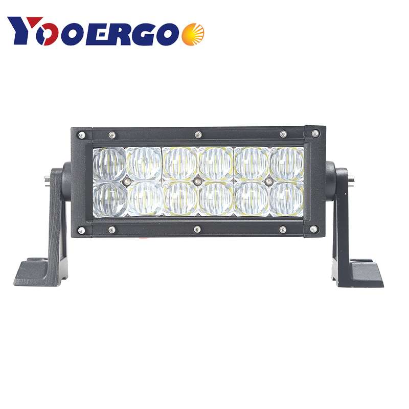36W 72W LED Light Bar Dual Row 5D LED Work Light Bar for Tractor Boat OffRoad 4WD 4x4 Truck SUV ATV 12V 24v image