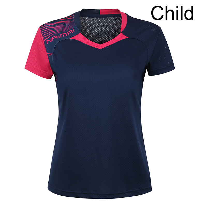 Free Printing Children Table tennis shirt boy , girl sports Tennis tracksuit , boy Badminton t shirt , Tennis wear shirt 5062B