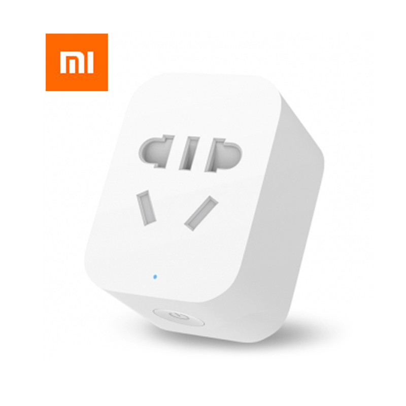 Original Xiaomi Mi Smart WiFi Socket Plug APP Remote Control Timer Power Detection ZigBee Version with Smart Home Mihome APP цены