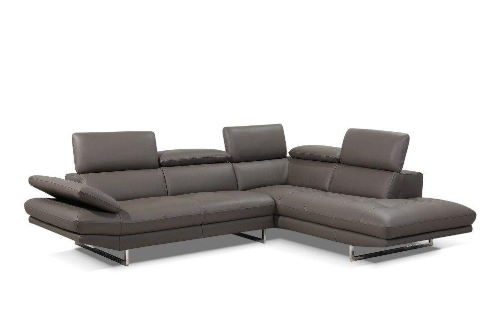 divano in pelle moderno-acquista a poco prezzo divano in pelle ... - Soggiorno Ad Angolo Moderno 2