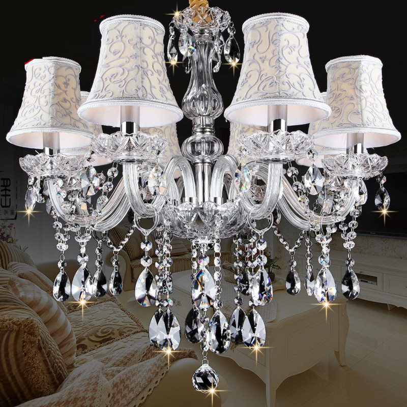 Nye Moderne LED krystall lysekroner til spisestue kjøkken Stue Soveværelse K9 krystall lustres de teto tak lysekrone