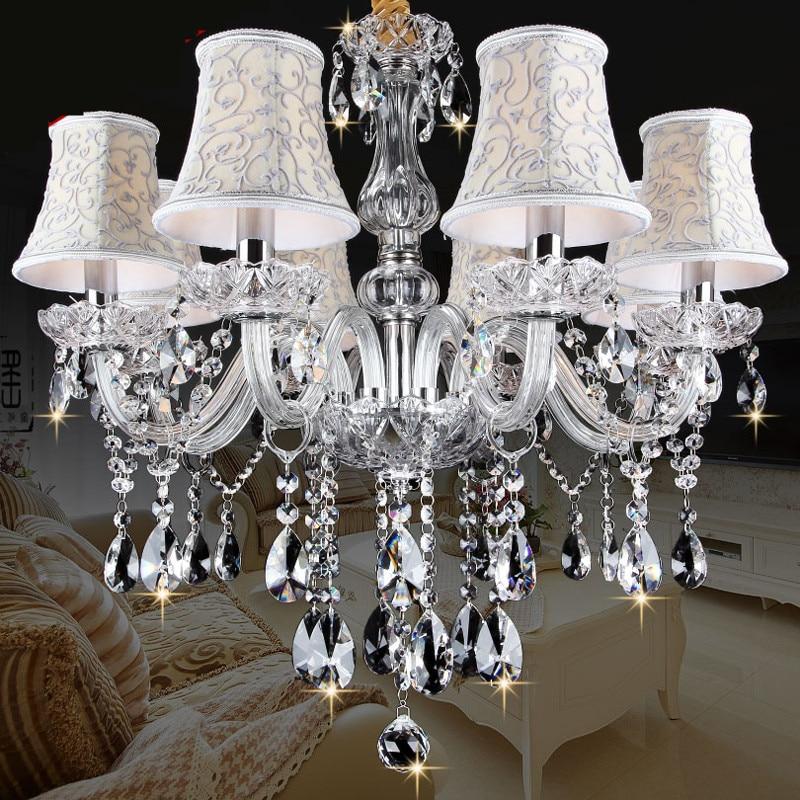 Novi moderni vodeni kristalni lusteri za blagovaonicu kuhinja Dnevna soba Spavaća soba K9 kristalno svjetlo od teto stropni luster