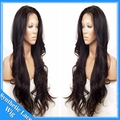 Body Wave Synthetic Wigs With Baby Hair Top Quality Heat Resistant Synthetic Lace Front Wig For Black Women Full / Half Hand Wig