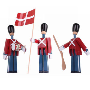 Image 5 - Nordic Danish Soldier Wooden Decoration Creative Home Childrens Model House Decoration Puppet Decoration Handmade Solid Wood