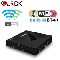 A5X Max TV Box RK3328 Quad Core Bluetooth Smart Android 7 1 Set Top Boxes 2