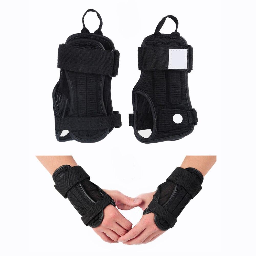 Prix pour Palm Wrist Guard Brace Sport Équipement De Protection Main Protecteurs Gants Armguard pour Moto Snowboard Ski De Patinage de Planche À Roulettes