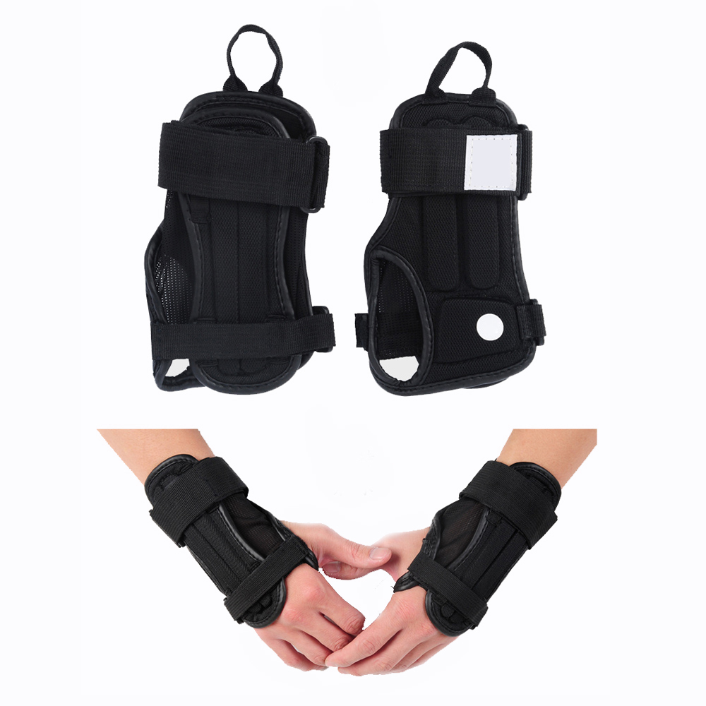 Motorcycle gloves palm protection - Palm Wrist Guard Brace Sport Protective Gear Hand Protectors Gloves Armguard For Motorcycle Snowboard Skiing Skating