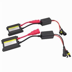 55 Вт H4 H1 H3 xenon H7 H8 H10 H11 H27 HB3 HB4 H13 9005 9006 H9 тонкий балласт комплект ксенон Hid автомобильный светильник светодиодный светильник