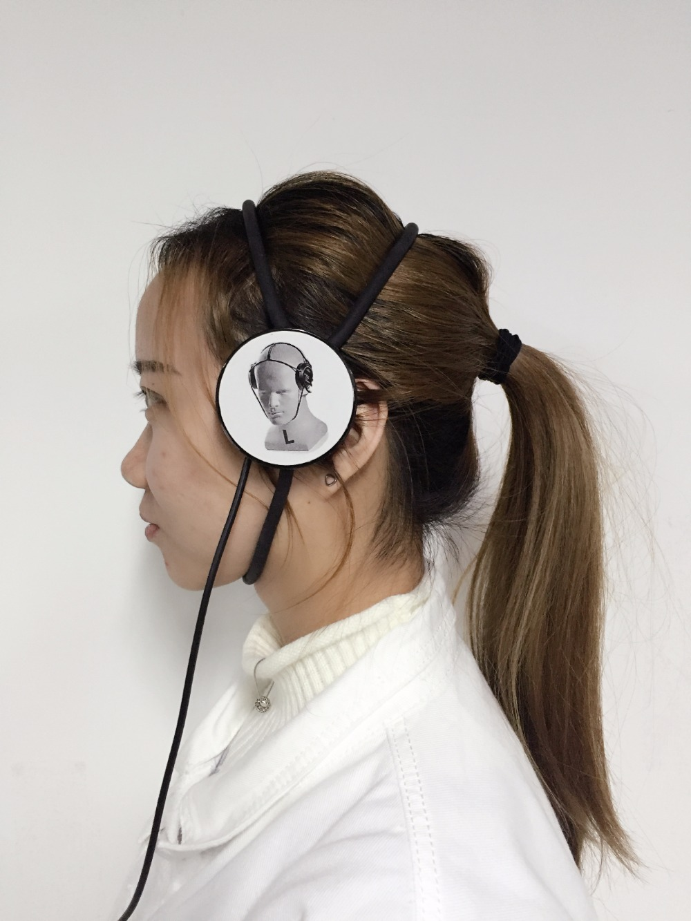 New arrival line style headphone for NLS machinesNew arrival line style headphone for NLS machines